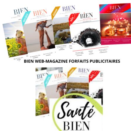 BIEN magazine publicité
